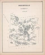 Deerfield, New Hampshire State Atlas 1892 Uncolored
